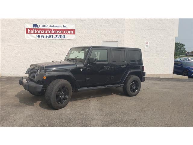 2014 Jeep Wrangler Unlimited Sahara (Stk: 310859) in Burlington - Image 2 of 13