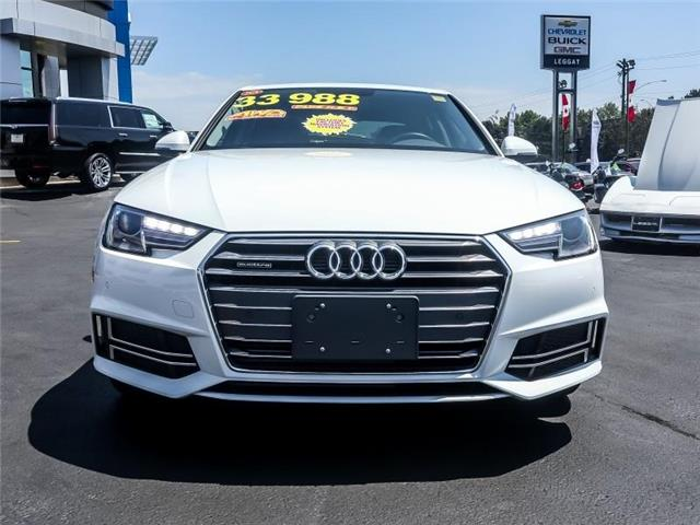 2018 Audi A4 2.0T Komfort (Stk: 99568AB) in Burlington - Image 2 of 23