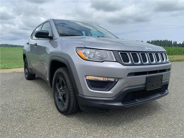 2018 Jeep Compass Sport (Stk: w578679a) in Courtenay - Image 1 of 25