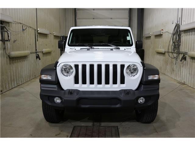 2019 Jeep Wrangler Unlimited Sport (Stk: KT098) in Rocky Mountain House - Image 3 of 24