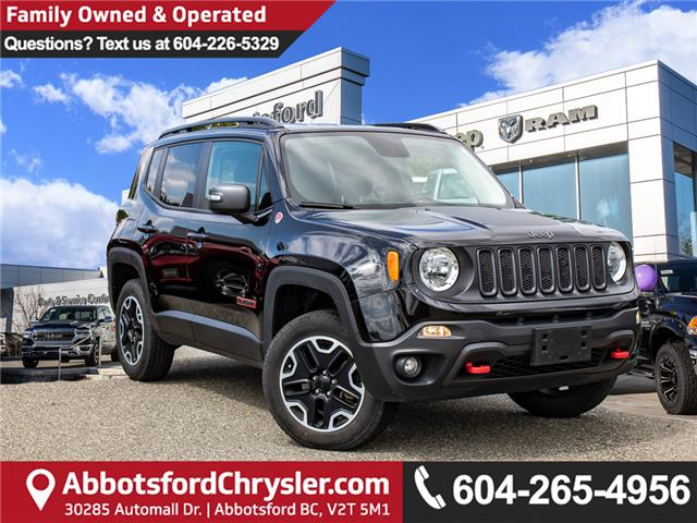 2016 Jeep Renegade Trailhawk (Stk: K620538A) in Abbotsford - Image 1 of 26