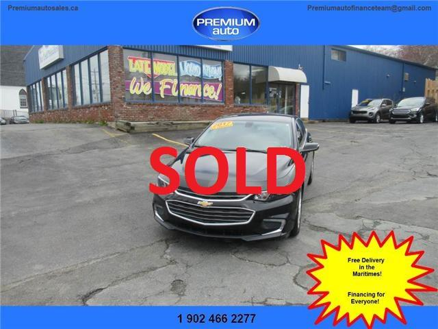 2017 Chevrolet Malibu 1LT (Stk: 102697) in Dartmouth - Image 1 of 24