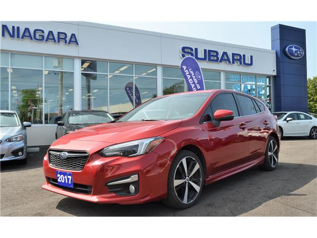 2017 Subaru Impreza Sport-tech (Stk: S4407A) in St.Catharines - Image 1 of 26