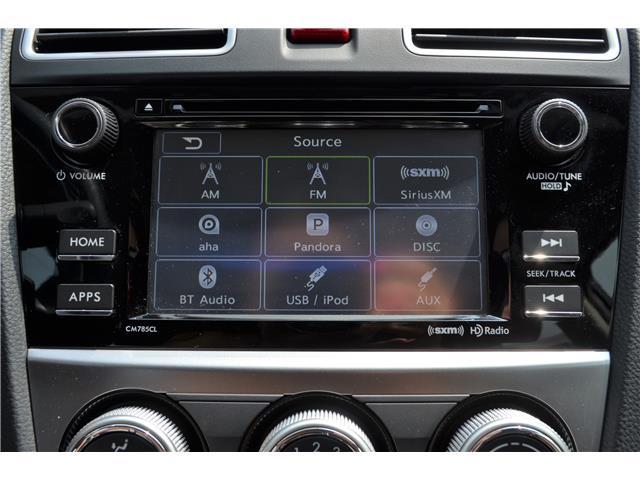 2016 Subaru Impreza 2.0i Touring Package (Stk: Z1518) in St.Catharines - Image 17 of 24