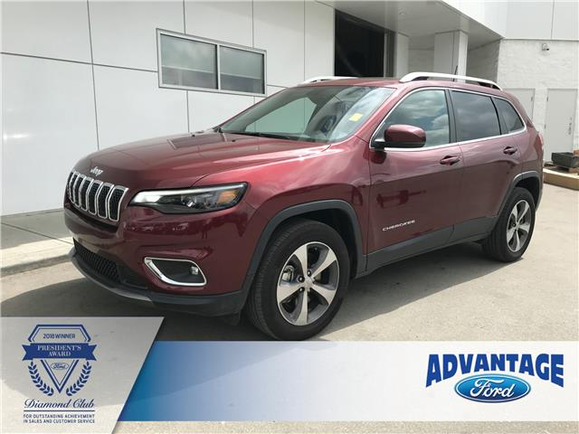 2019 Jeep Cherokee Limited (Stk: 5498) in Calgary - Image 1 of 17