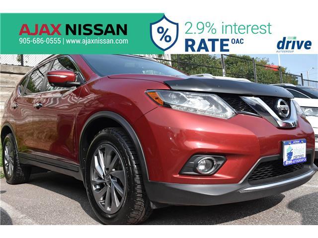 2015 Nissan Rogue SL (Stk: U617A) in Ajax - Image 1 of 35