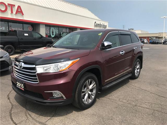 2015 Toyota Highlander LE (Stk: P0055440) in Cambridge - Image 2 of 15