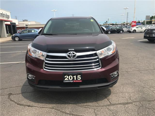 2015 Toyota Highlander LE (Stk: P0055440) in Cambridge - Image 3 of 15