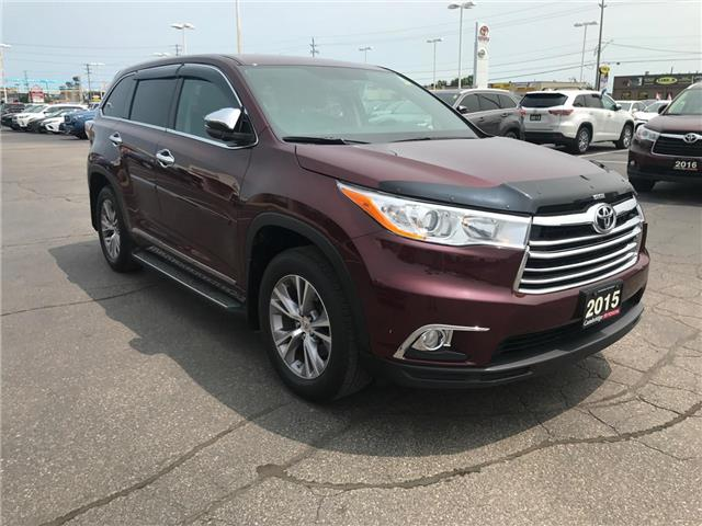 2015 Toyota Highlander LE (Stk: P0055440) in Cambridge - Image 4 of 15