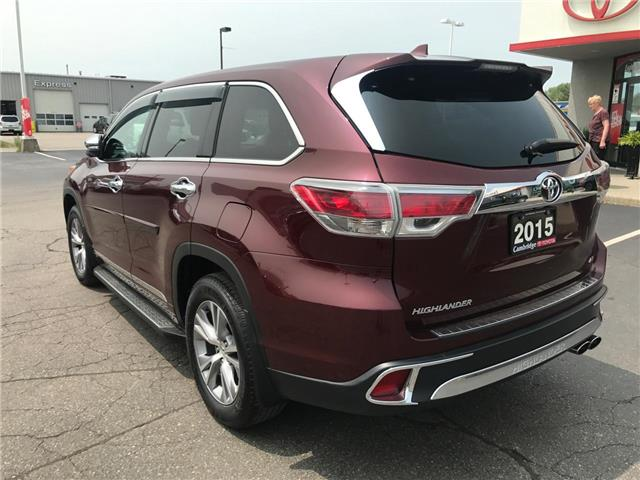 2015 Toyota Highlander LE (Stk: P0055440) in Cambridge - Image 8 of 15