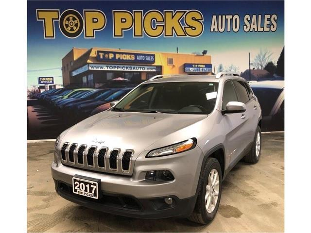 2017 Jeep Cherokee North (Stk: 214740) in NORTH BAY - Image 1 of 27