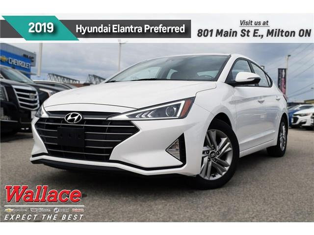 2019 Hyundai Elantra Preferred/SUNROOF/HTD SEATS & WHEEL/CARPLAY/CAMRA (Stk: PR5083) in Milton - Image 1 of 27