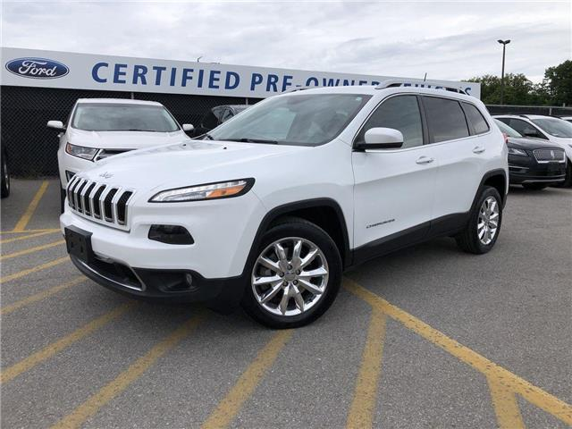 2017 Jeep Cherokee Limited (Stk: ED19156A) in Barrie - Image 1 of 23