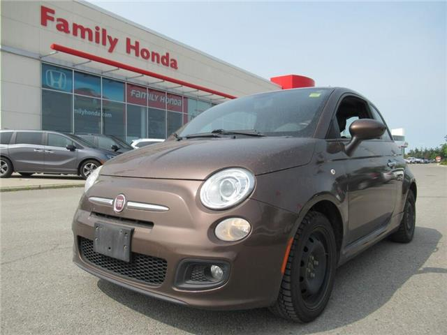 2012 Fiat 500 Sport, ALLOY RIMS AND TIRES!! (Stk: U03495A) in Brampton - Image 1 of 21