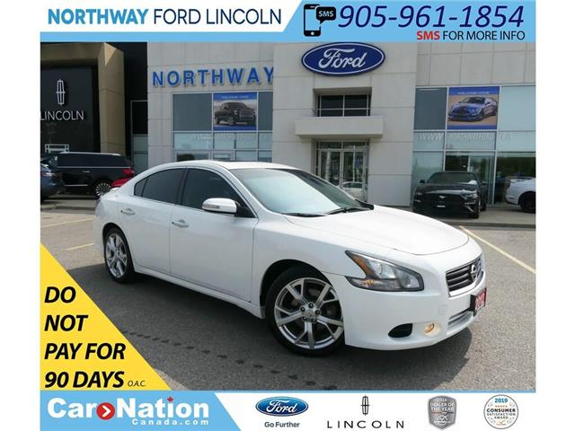 2012 Nissan Maxima SV | HTD LEATHER | BACKUP CAM | SUNROOF | (Stk: F195683A) in Brantford - Image 1 of 40