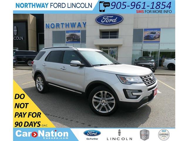 2017 Ford Explorer Limited | AWD | NAV | HTD LEATHER | PANO ROOF | (Stk: DR313) in Brantford - Image 1 of 49