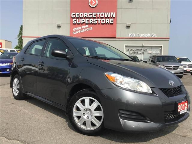 2012 Toyota Matrix ONLY 52,738KMS | POWER OPTIONS | AUX | A/C (Stk: P11942A) in Georgetown - Image 2 of 22