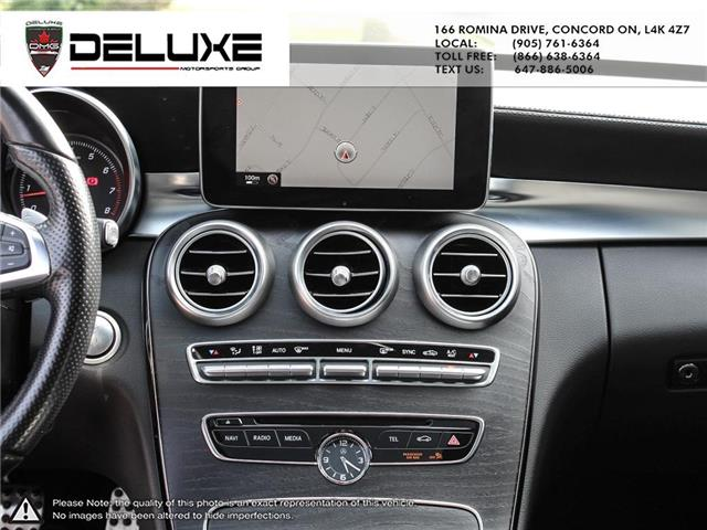2015 Mercedes-Benz C-Class Base (Stk: D0613) in Concord - Image 17 of 26