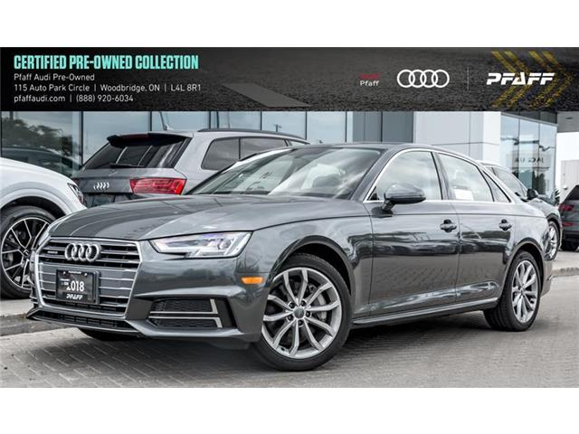 2018 Audi A4 2.0T Progressiv (Stk: C6665) in Vaughan - Image 1 of 22