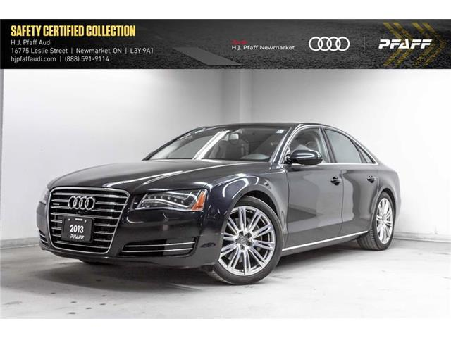 2013 Audi A8 3.0T (Stk: A12203A) in Newmarket - Image 1 of 22