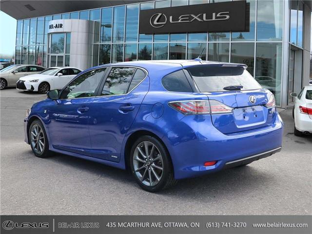 2012 Lexus CT 200h Base (Stk: 970231A) in Ottawa - Image 7 of 29