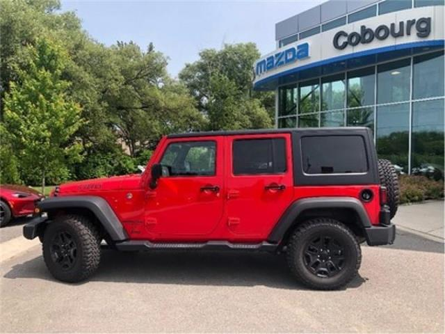 2017 Jeep Wrangler Unlimited Sport (Stk: U0345A) in Cobourg - Image 2 of 23