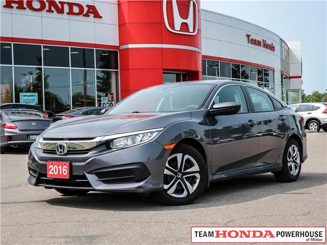 2016 Honda Civic LX (Stk: 3365) in Milton - Image 1 of 23