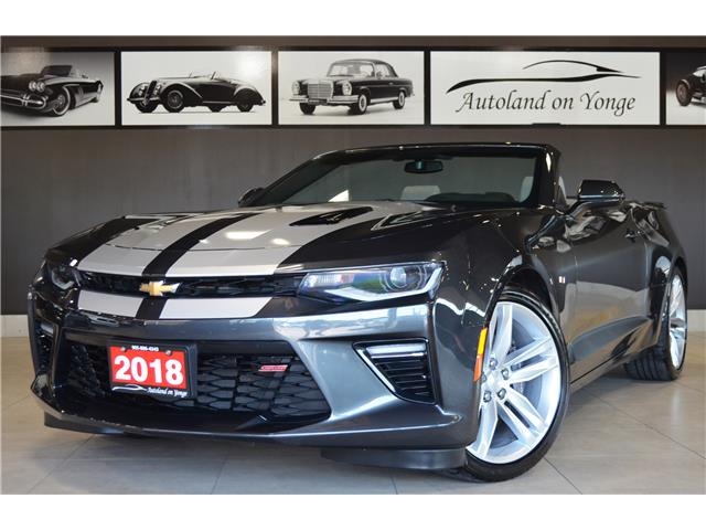 2018 Chevrolet Camaro 2SS (Stk: AUTOLAND- U16525A) in Thornhill - Image 1 of 33