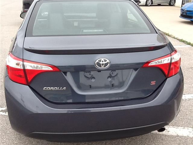 2015 Toyota Corolla S (Stk: 19365a) in Owen Sound - Image 6 of 8