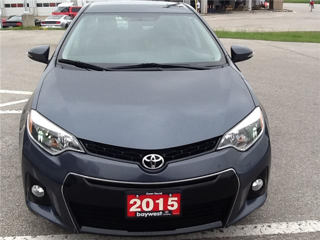 2015 Toyota Corolla S (Stk: 19365a) in Owen Sound - Image 8 of 8