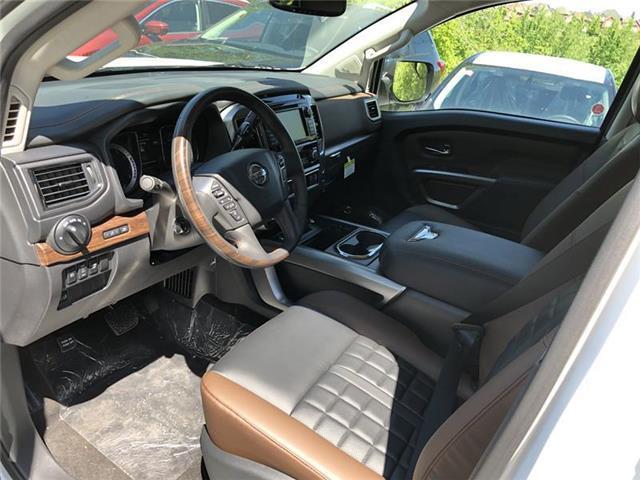 2019 Nissan Titan Platinum (Stk: RY19N003) in Richmond Hill - Image 2 of 5