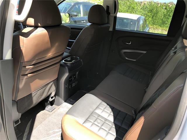 2019 Nissan Titan Platinum (Stk: RY19N003) in Richmond Hill - Image 3 of 5