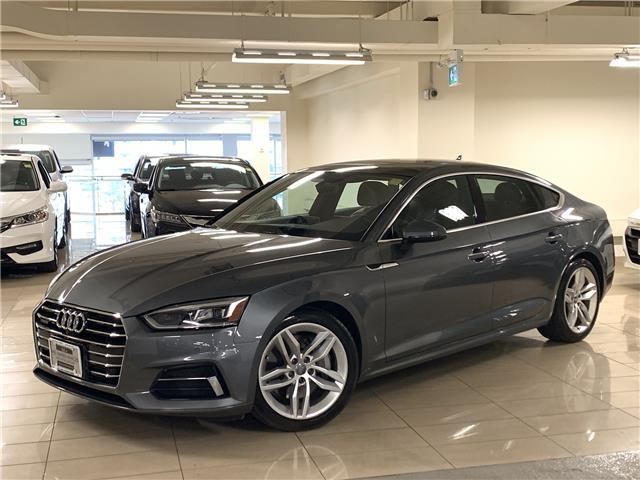 2018 Audi A5 2.0T Technik (Stk: D12768A) in Toronto - Image 1 of 30