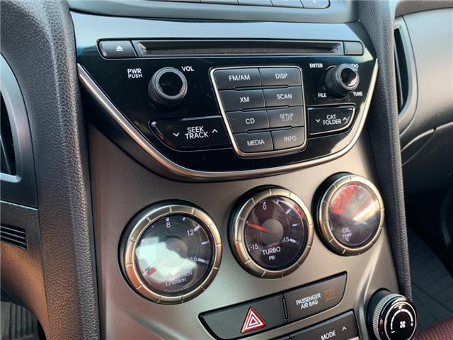 2013 Hyundai Genesis Coupe 2.0T R-Spec (Stk: DU087454) in Sarnia - Image 13 of 14