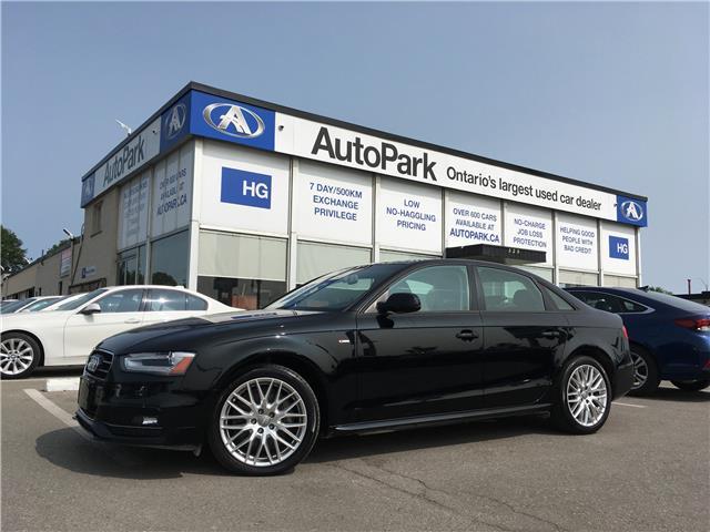 2015 Audi A4 2.0T Komfort plus (Stk: 15-41086) in Brampton - Image 1 of 26