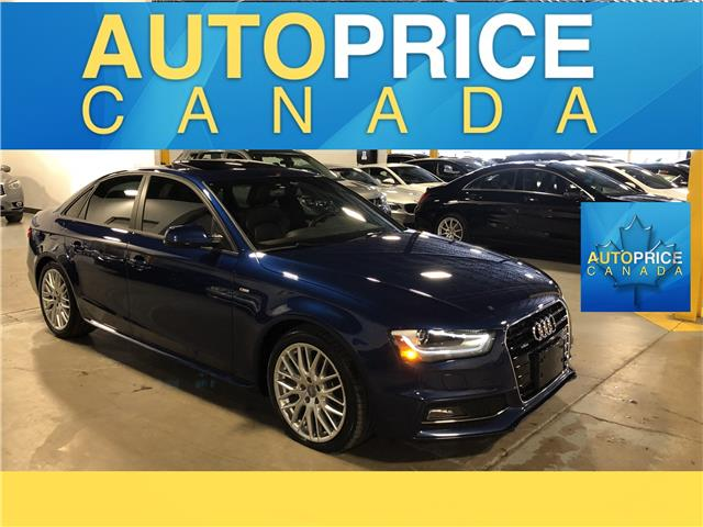 2015 Audi A4 2.0T Komfort plus (Stk: F0474) in Mississauga - Image 1 of 24