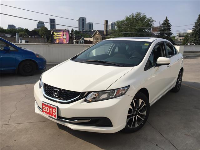 2015 Honda Civic EX (Stk: C191064A) in Toronto - Image 1 of 22