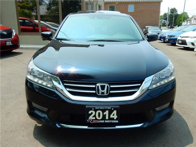 2014 Honda Accord Touring (Stk: 1HGCR2) in Kitchener - Image 2 of 26