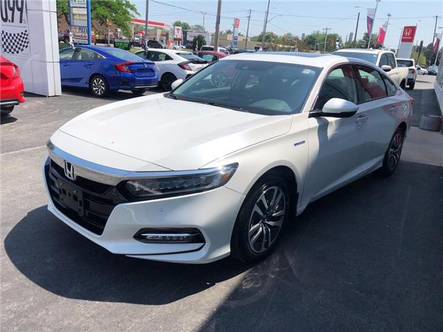 2019 Honda Accord Hybrid Touring (Stk: N5233) in Niagara Falls - Image 2 of 5