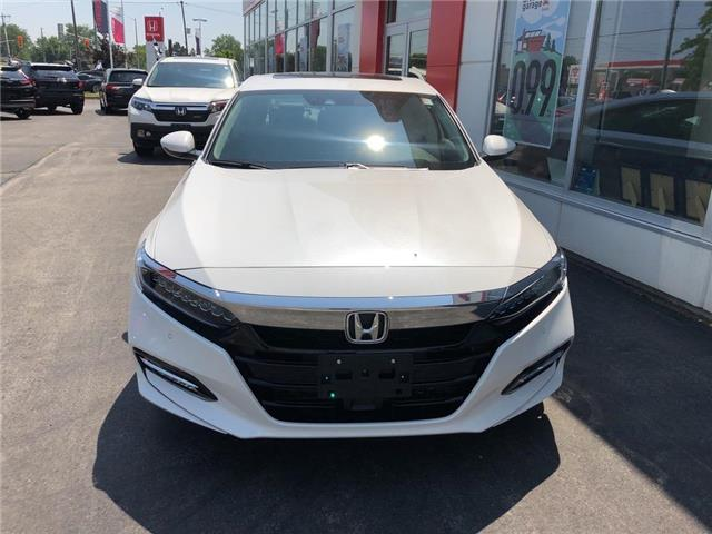 2019 Honda Accord Hybrid Touring (Stk: N5233) in Niagara Falls - Image 2 of 4