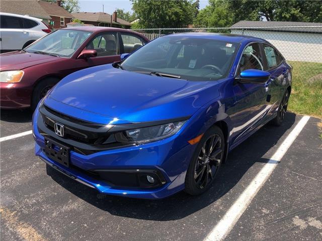 2019 Honda Civic Sport (Stk: N5242) in Niagara Falls - Image 1 of 4