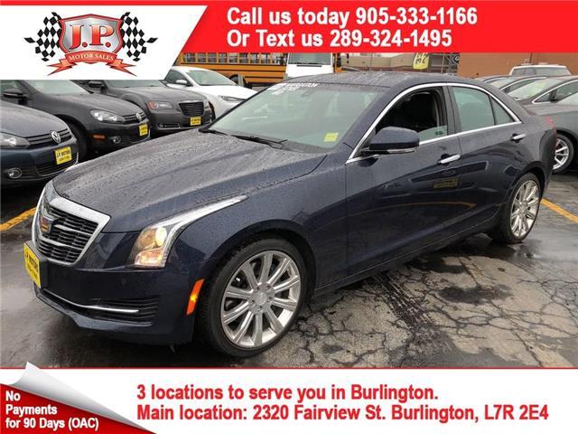 2015 Cadillac ATS 2.0L Turbo Luxury (Stk: 46958A) in Burlington - Image 1 of 25