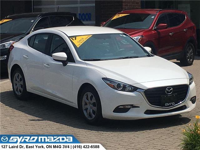 2017 Mazda Mazda3 GX (Stk: 28617A) in East York - Image 1 of 29