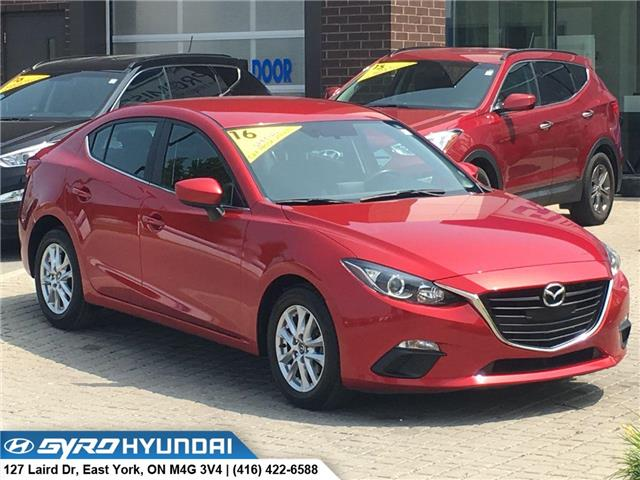 2016 Mazda Mazda3 GS (Stk: H5067) in Toronto - Image 1 of 28