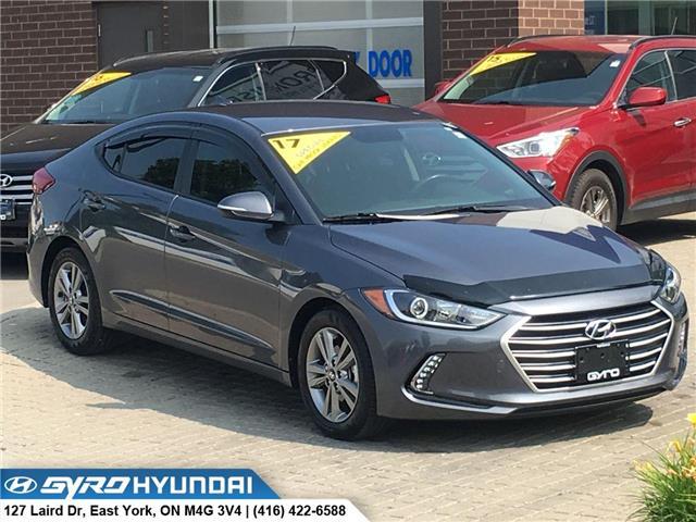 2017 Hyundai Elantra GL (Stk: H5128) in Toronto - Image 1 of 27
