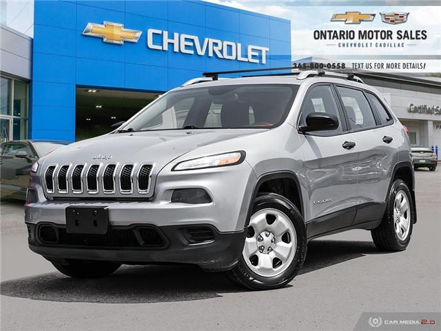 2014 Jeep Cherokee Sport (Stk: 162273A) in Oshawa - Image 1 of 36
