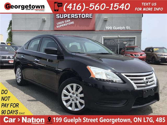 2015 Nissan Sentra 1.8 S | BLUTOOTH | POWER GROUP | 128K | AUTO | A/C (Stk: P12247A) in Georgetown - Image 1 of 23