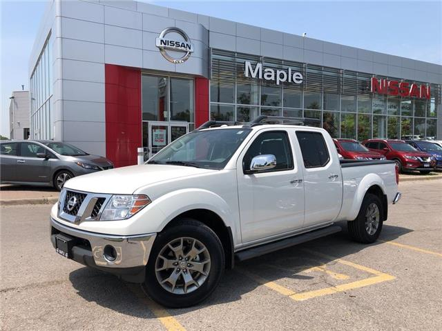 2018 Nissan Frontier Crew Cab SL 4x4 at (Stk: M18T011) in Maple - Image 1 of 24