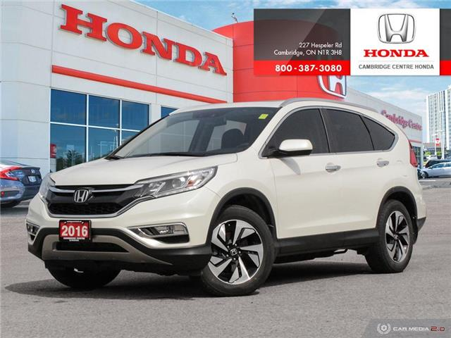 2016 Honda CR-V Touring (Stk: 19895A) in Cambridge - Image 1 of 27