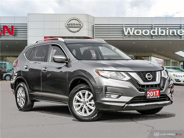 2017 Nissan Rogue SV (Stk: P7278) in Etobicoke - Image 1 of 23
